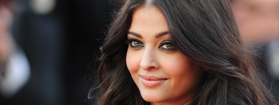 Die indische Schauspielerin Aishwarya Rai